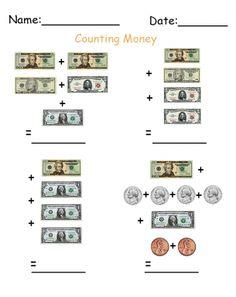 math money worksheet money worksheets learning money. Black Bedroom Furniture Sets. Home Design Ideas