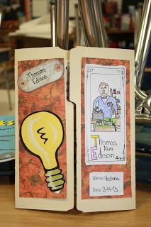 Fabulous in Fourth!: Watts Up Thomas Edison??? Project for Thomas Edison or other inventors