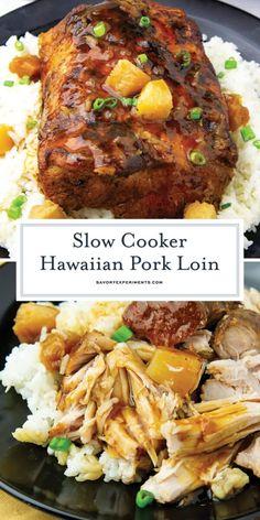 Pork Loin Recipes Slow Cooker, Pork Roast Recipes, Slow Cooker Pork Tenderloin, Pork Recipes For Dinner, Pork Dinner Ideas, Slow Cooker Easy Recipes, Easy Dinner Recipes Pork, Beef Neck Bones Recipe Slow Cooker, Pork Loin Pressure Cooker