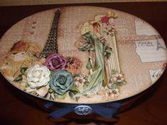 Caixa vintage Paris