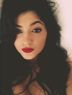 Do you like Kylie Jenner's bold red lips?