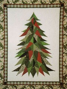 Sage Country Christmas Tree -- [REPINNED by All Creatures Gift Shop] Very pretty!