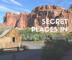 Capitol Reef National Park is one of Utah's best kept secrets, with hidden treasures and breathtaking surprises just waiting to be discovered and explored.