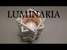 DIY- Luminaria de pregador 1º Arte Desafio - YouTube