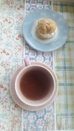 #cup #tea #cake #kitchen #cooking #plate #sweet