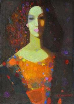 Figure Painting, Painting & Drawing, Modern Art, Contemporary Art, Atelier D Art, Schmuck Design, Russian Art, Art Plastique, Face Art