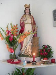 SANTA BARBARA BENDITA – el 4 de diciembre es su dia.