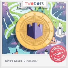 I fought my way to victory with the Royal Shield! - playtwo.do/ts #TwoDots