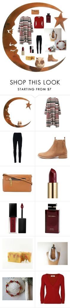"""Autumn Moon and Star"" by ameliabathandbody ❤ liked on Polyvore featuring WALL, Givenchy, Mollini, Marc Jacobs, Urban Decay, Smashbox, Dolce&Gabbana, Valentino, jewelry and women"