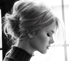 updo for shoulder length hair B <3 K