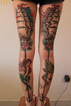 Ben tatuering. Schysst