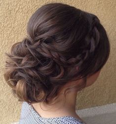 Featured Hairstyle: Heidi Marie (Garrett) Villa - Hair and Makeup Girl; Wedding hairstyle idea. #weddinghairstyles