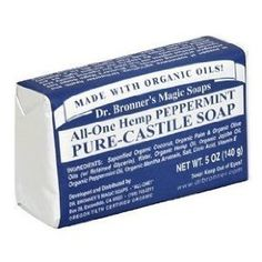 Dr. Bronner's All-One Hemp Pure-Castile Soap, Peppermint || Skin Deep® Cosmetics Database | Environmental Working Group