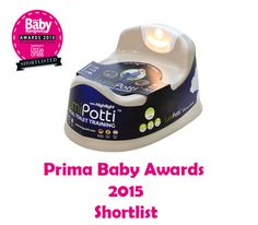 LumiPotti has been shortlisted in the Prima Baby Awards 2015  #primababyawards