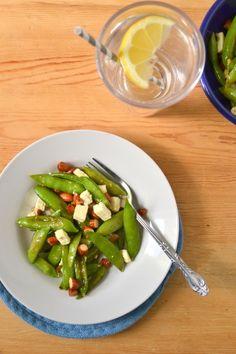Quick Pickled Sugarsnap Peas Recipe — Dishmaps