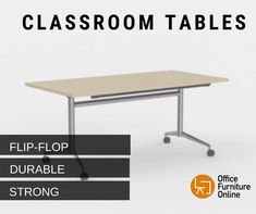 Simply roll out a Team Flip top table as required to create extra work space, with a simple one handed durable mechanism, simply pull and tilt. Three table sizes available, 1600 + 1800 mm wide. Flip Top Table, Table Frame, Table Sizes, Furniture Online, Workspaces, Tilt, Steel Frame, Flipping, Flexibility