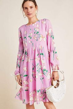 38ac4878d073 Cynthia Rowley Tie-Sleeved Floral Maxi Dress #ad #AnthroFave #AnthroRegistry  Anthropologie #