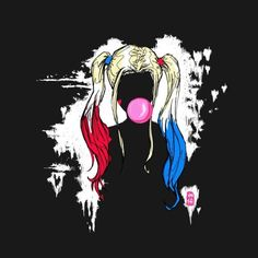 Check out this awesome 'Harley+Quinn' design on Harley Quinn Tattoo, Joker Y Harley Quinn, Harley Quinn Drawing, Margot Robbie Harley Quinn, Harley Quinn Cosplay, Harley Queen, Disney Wallpaper, Gotham City, Cartoon Drawings