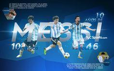 A diez años del debut de Messi en la Selección Argentina | Noticias | TyCSports.com