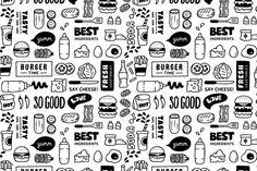 Burger Pattern - Patterns