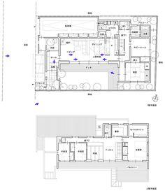 市崎の家 My Dream Home, Sims, House Plans, House Ideas, Floor Plans, Flooring, How To Plan, Log Projects, Architecture