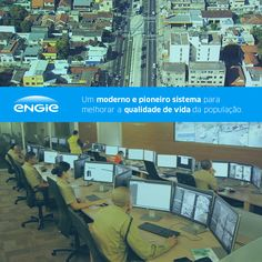O Centro de Operações de Controle do Tráfego de Niterói já está funcionando e é da ENGIE. Esse moderno e pioneiro sistema irá melhorar a qualidade de vida da população e contribuir para a redução do tempo de deslocamento.  Acesse: www.engie.com.br  #ENGIE