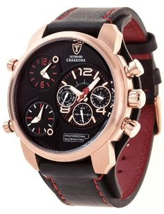 DETOMASO Men's DT2018-C CASABONA XXL Multifunction Trend Schwarz/Schwarz Analog Display Japanese Quartz Black Watch, http://www.amazon.com/dp/B00F9OT1HA/ref=cm_sw_r_pi_awdm_2RPFwb0VEQE85