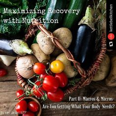 Calories and macros and micros oh my!  How do you figure it all out? You can start here! Part II of my blog series on recovery nutrition is up at @kettlebellkitchen   This week's post is all about nutrients- recovery depends on them! Head over to read how you can ensure you're filling your body with the best fuel and replenishment possible. (link in bio) #thisblogfitsyourmacros by kim.jordan