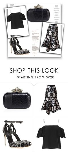 """Outfit # 4112"" by miriam83 ❤ liked on Polyvore featuring Alexander McQueen, Francesco Scognamiglio, Dolce&Gabbana, Fendi, Haute Hippie and Whiteley"