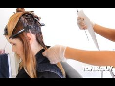 How to Color Hair | Ombre Balayage Hair Color Technique FULL LENGTH