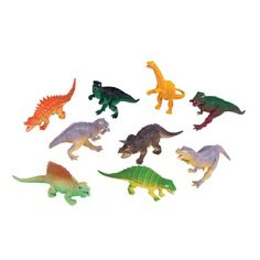 5.5-inch-6.5-inch Dinosaurs (Bulk Pack of 12 Dinos) at theBIGzoo.com, a family-owned toy store.
