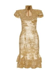 Fitted dress by Alexander McQueen