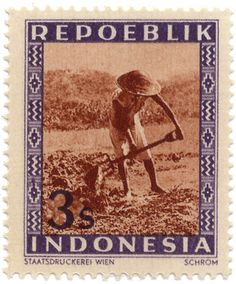 Indonesia Stamp 1949
