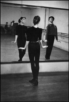 Audrey Hepburn photographed by David Seymour, 1956