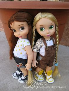 Bella y Rapunzel   Flickr - Photo Sharing!