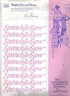 Stretch & Sew Multi-Size Pattern #205 -- 1978 (Image1)