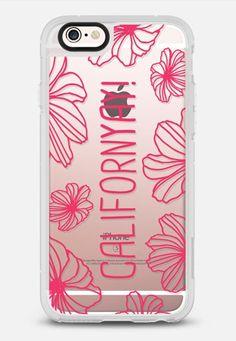 CalifornYAY! - Sunset Pink iPhone 6s case by Sarah Jane Design | Casetify