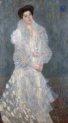 Gustav Klimt (1862–1918), Portret van Hermine Gallia, 1904, olieverf op doek, 170.5 × 96.5 cm, The National Gallery, Londen http://www.artsalonholland.nl/portretkunst/gustav-klimt-portret-hermine-gallia