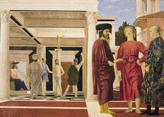 Flagellation of Christ by Piero della Francesca. Credit: Scala/Art Resource, New York