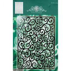 Шаблонът на Lin & Lene Design 'Фантазия' е от вида тънки  метални шаблони които правят само релеф(ембос) на картона.   За да използвате този вид шаблони са необходими:  Основен адаптер, подложка за рязане,  адаптер за рязане с тънки метални шаблони  и подложки за рязане.     Съдържа : 1 шаблон  Размер : 148.0 х 105.0 мм.  Формат : А6  Модел : 1201/0051  Код : 28037