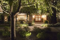 Rob Schucker, of R&S Landscape, has a refined sense of outdoor lighting design, making artificial lighting look natural using CAST Lighting fixtures. Pin this landscape lighting design!