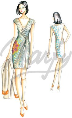 Marfy Dress 2748