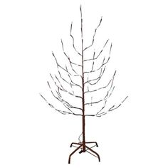 Let the Brown Twig Slim Pre-lit Christmas Tree be your blank slate this Christmas. This tree has a bare twig design pre-lit by an even mix of steady. Pre Lit Christmas Tree, Holiday Tree, Christmas Holidays, Christmas Ideas, Christmas Gifts, Bed With Led Lights, White Led Lights, Twinkle Lights, Twinkle Twinkle