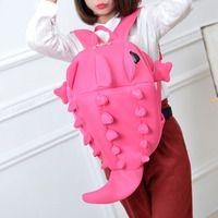 Funny cute cartoon monster dinosaur backpack Cuteharajuku