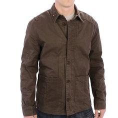 Barbour Chamber Overshirt Jacket (For Men))