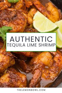 A fast and easy weeknight dinner, serve this tequila lime shrimp with warm corn tortillas, over rice or tossed with pasta. Gluten Free Recipes For Dinner, Healthy Dinner Recipes, Tequila Lime Shrimp, Kitchen Recipes, Kitchen Hacks, Mexican Appetizers, Corn Tortillas, How To Cook Shrimp, Easy Weeknight Dinners