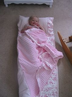 Nap Mat - removable pillow and wider blanket
