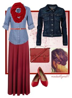 """November Evening"" by modestlyme97 ❤ liked on Polyvore"