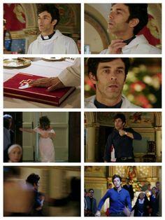Tomás renuncia a su vocación y sale tras Esperanza <3 <3 <3 #EsperanzaMía #Tomanza