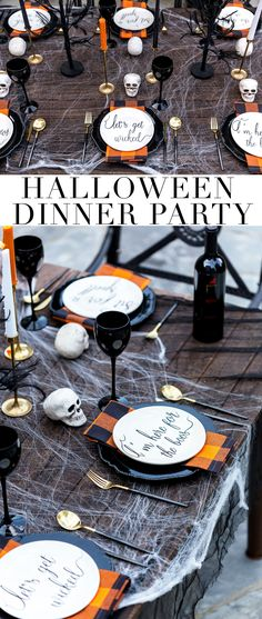 Halloween Dinner Party & Menu Ideas